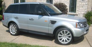 2006 Land Rover Range Rover Sport Hse,  20