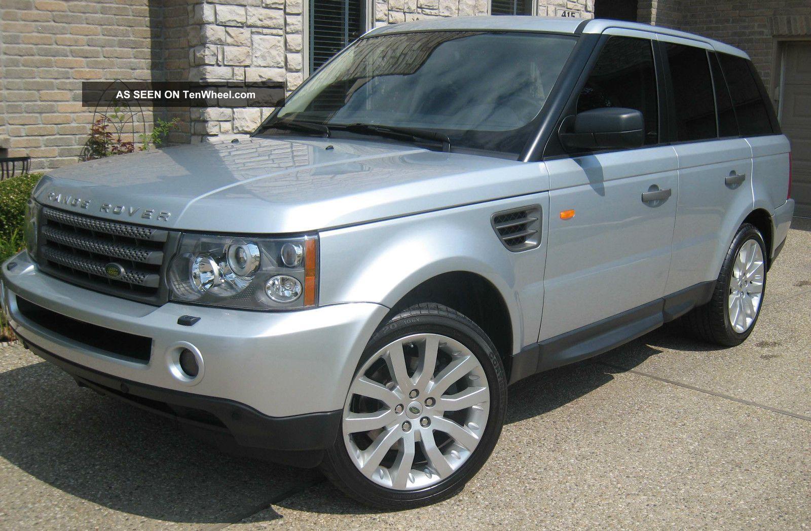 2006 land rover range rover sport hse 20 wheels luxury. Black Bedroom Furniture Sets. Home Design Ideas