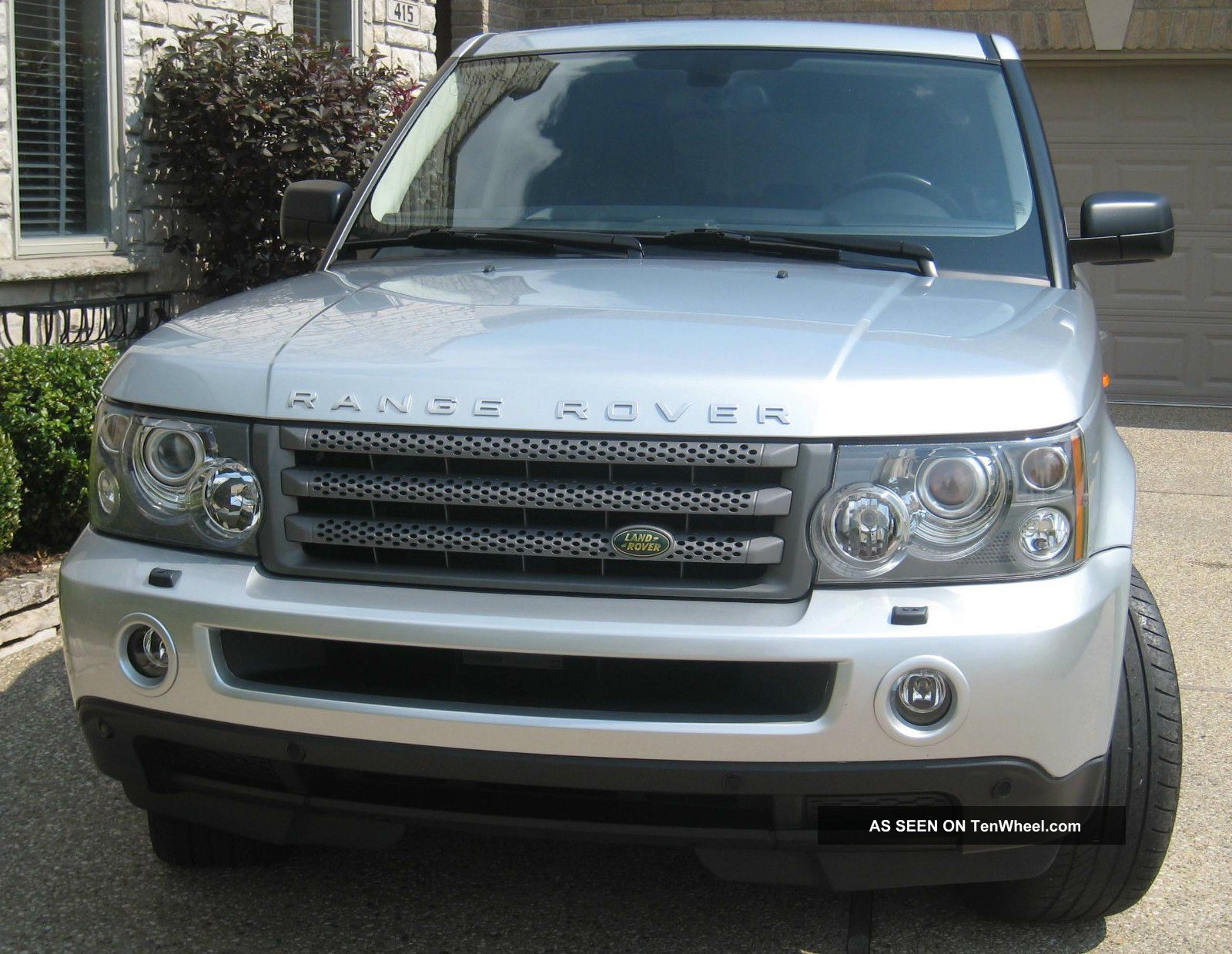 2006 land rover range rover sport hse 20 wheels luxury. Black Bedroom Furniture Sets. Home Design Ideas