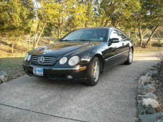 2002 Mercedes Cl600 photo