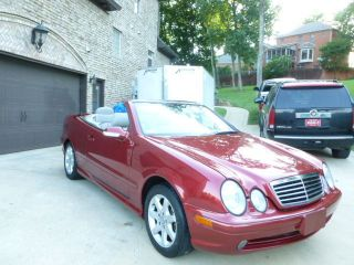 2002 Mercedes Clk430 Convertible photo