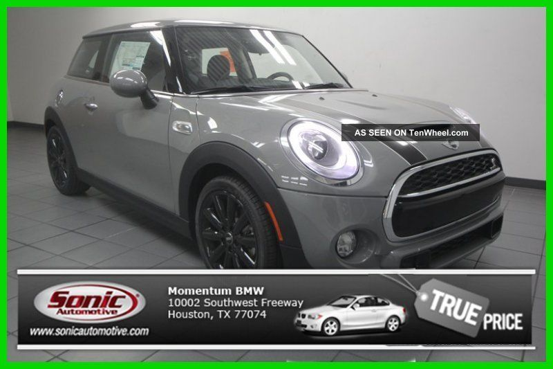 2014 Cooper S Turbo 2l I4 16v Manual Front - Wheel Drive Hatchback Premium Other photo