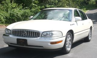 Gorgeous 2003 Buick Park Avenue Ultra Luxury Sedan Fully Loaded Pearl White photo
