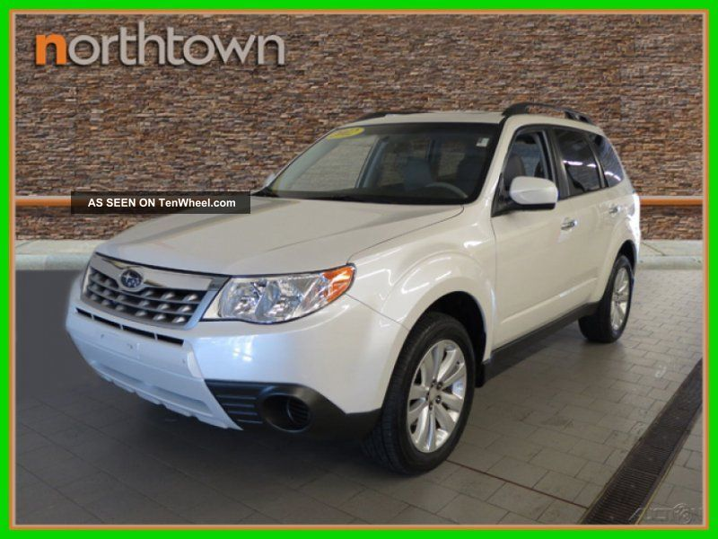 2012 2.  5x Premium 2.  5l H4 16v Automatic Awd Suv Forester photo