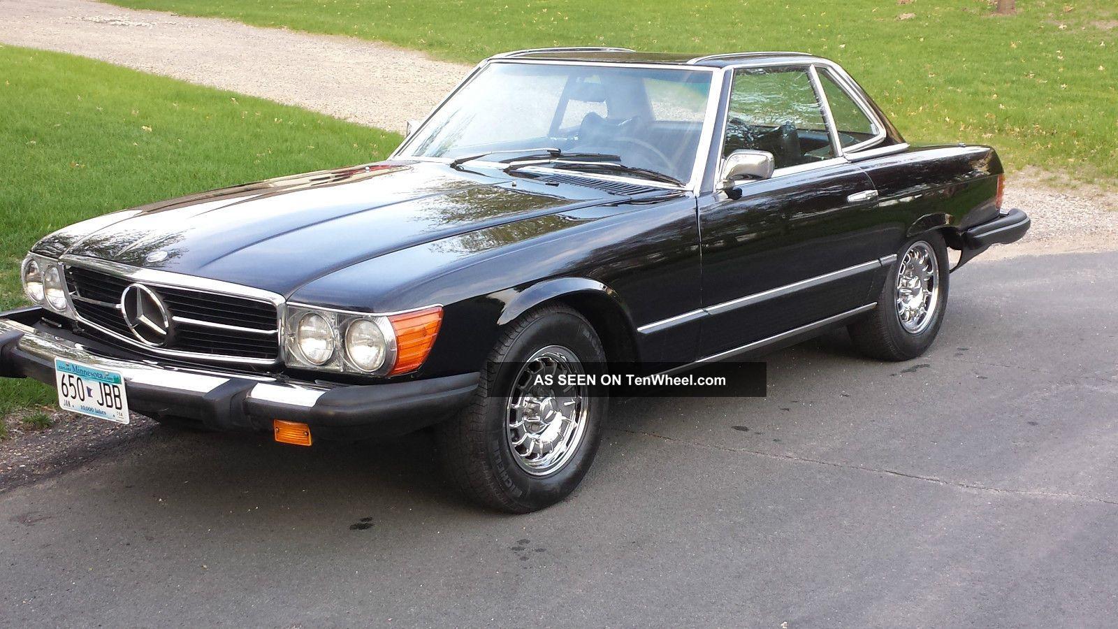 1975 Mercedes Benz 450sl Base Convertible 2 Door 4 5l