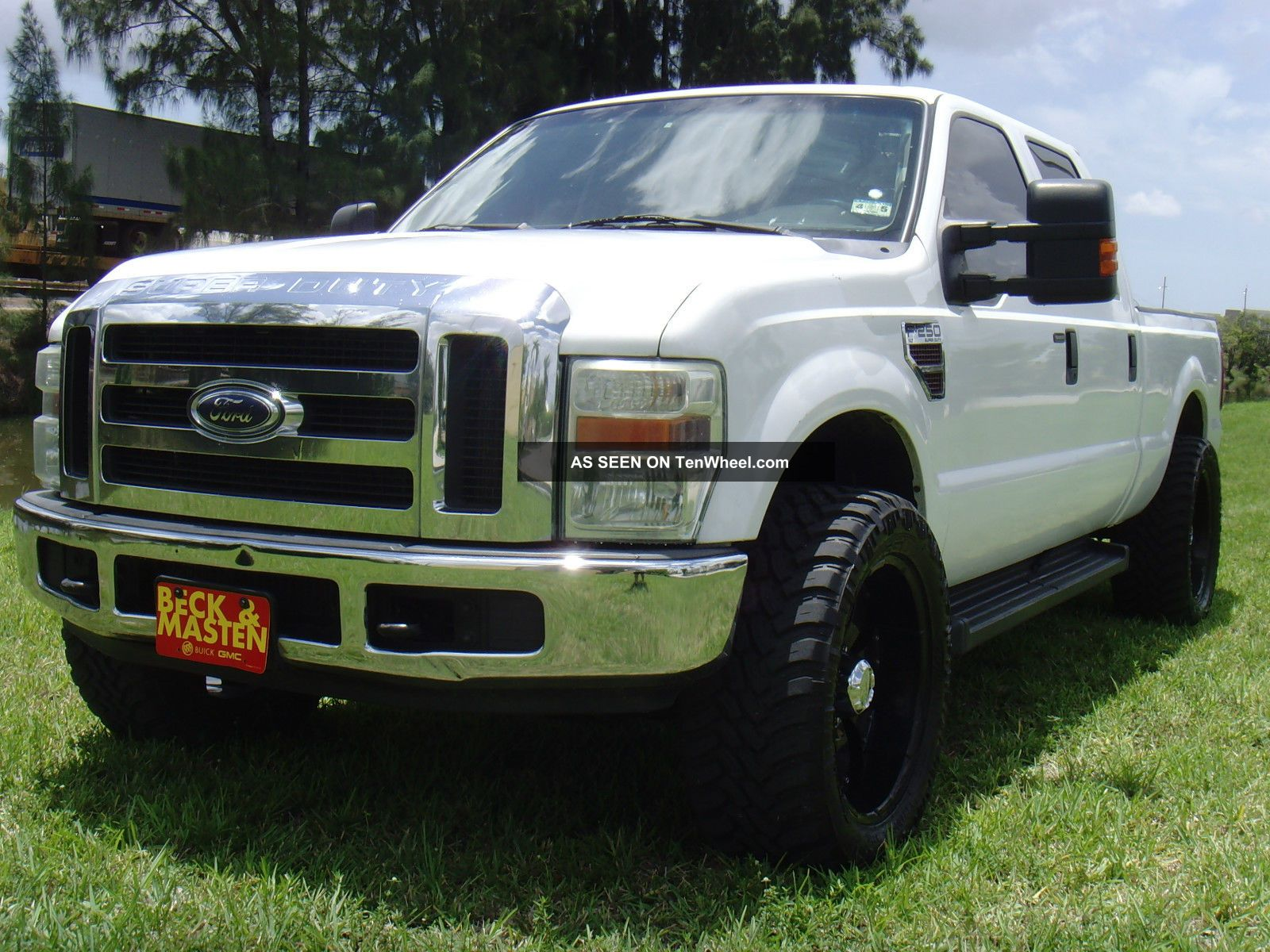 2008 ford f 250 lariat crew cab 4x4 diesel. Black Bedroom Furniture Sets. Home Design Ideas