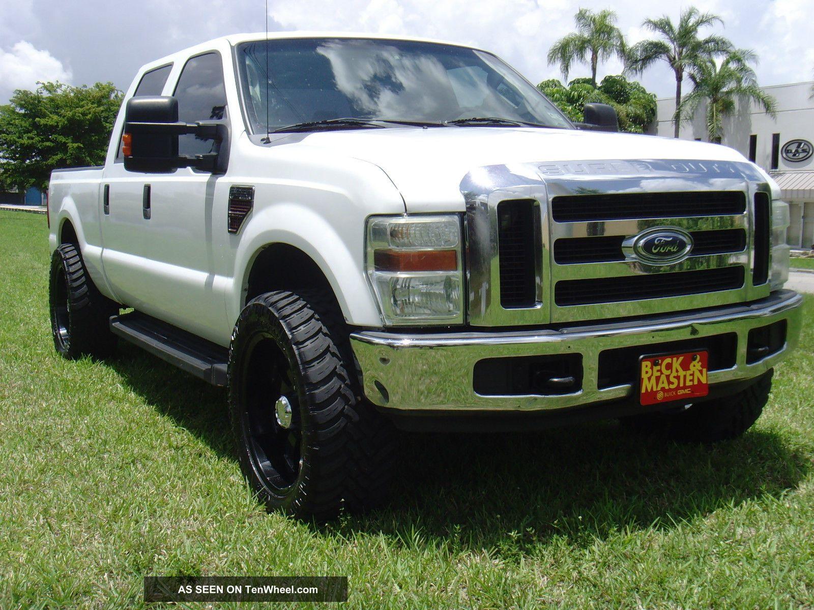 2008 ford f 250 lariat crew cab 4x4 diesel. Black Bedroom Furniture Sets. Home Design Ideas
