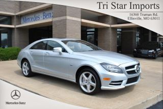 2012 Cls550 4matic Turbo 4.  7l V8 32v Automatic Sedan Premium photo