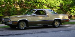 1980 Ford Fairmont Futura Coupe 2 - Door 3.  3l photo