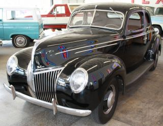 1939 Ford Deluxe Business Coupe Survivor photo