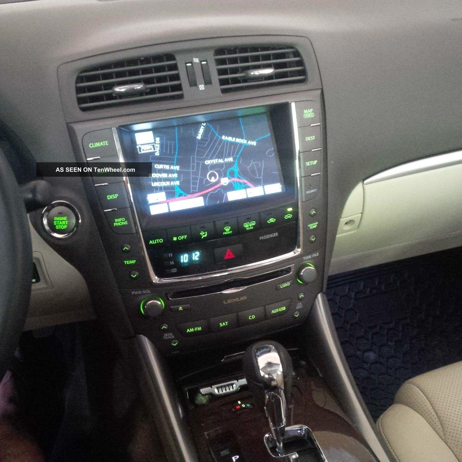 2012 Lexus Is250 Awd Still Under Loaded Navi