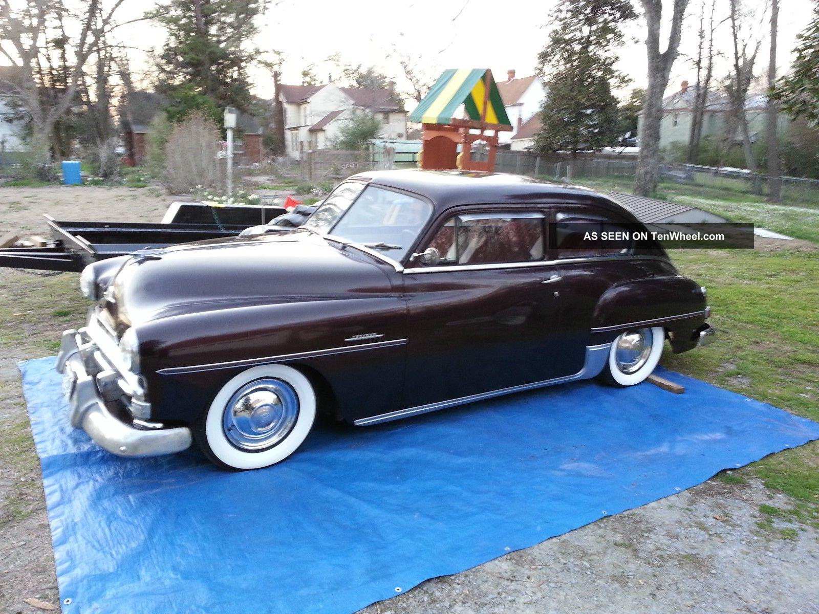 1951 Plymouth Concord Ratrod Rat Rod Hotrod Hot Lowrider Classic Old Chevrolet Custom