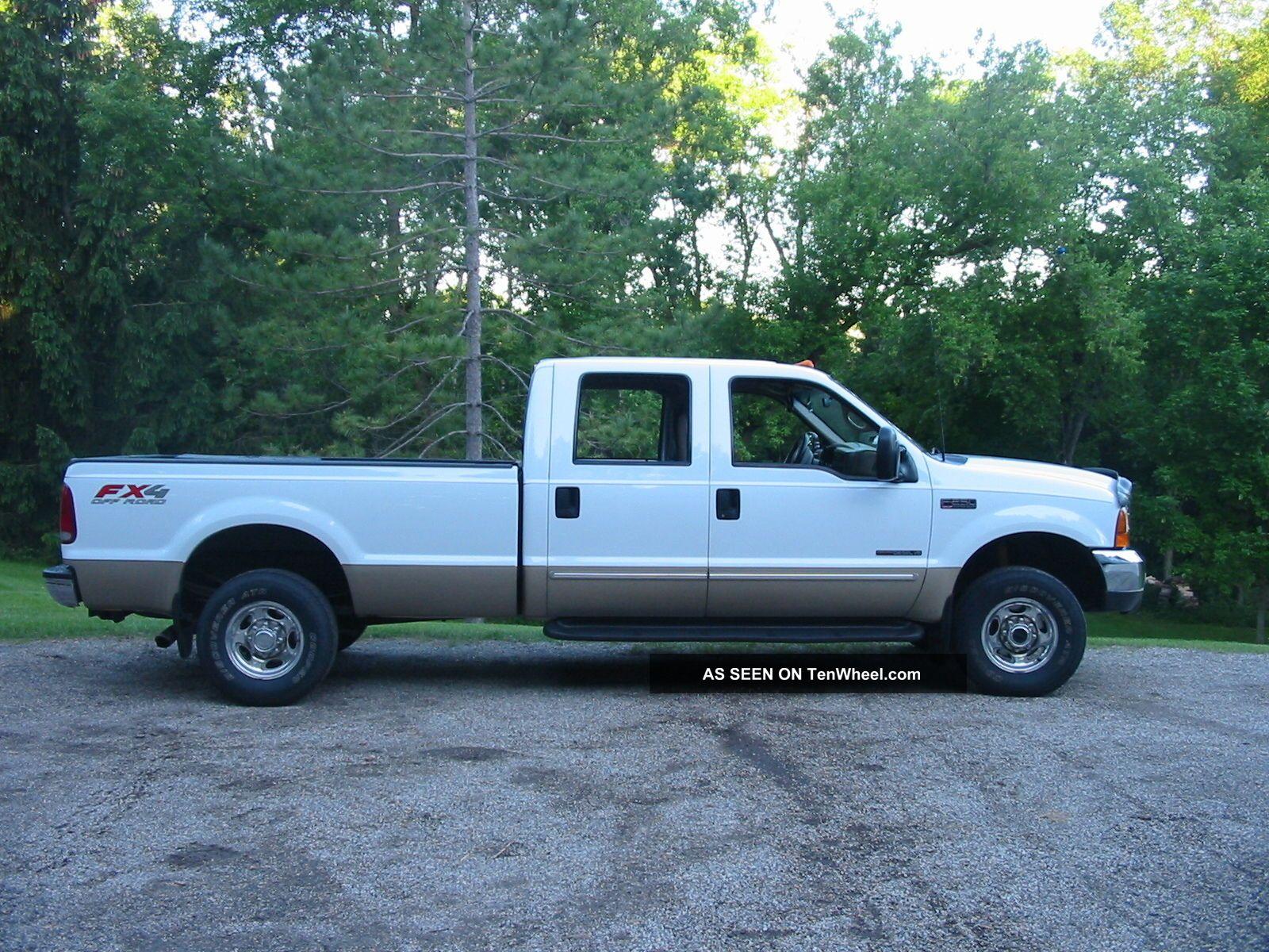 2000 ford f 250 duty lariat crew cab pickup 4 door 7 3l. Black Bedroom Furniture Sets. Home Design Ideas