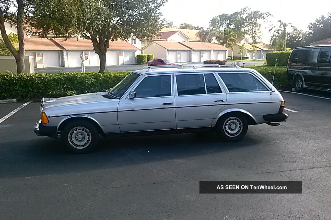 1984 mercedes benz 300td wagon for Mercedes benz wagons