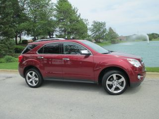 Sweet 2010 Equinox Ltz V6 With 20