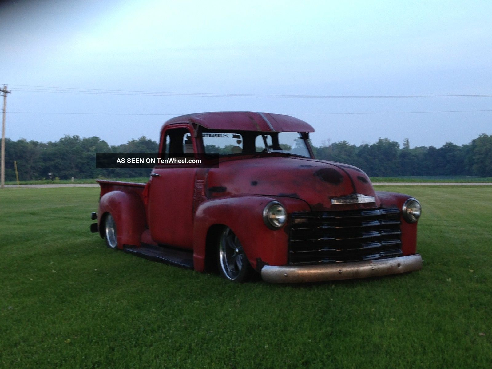 1953 Chevrolet 3100 5 Window Truck Pickup Rat Rod Other Pickups photo