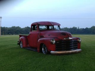1953 Chevrolet 3100 5 Window Truck Pickup Rat Rod photo
