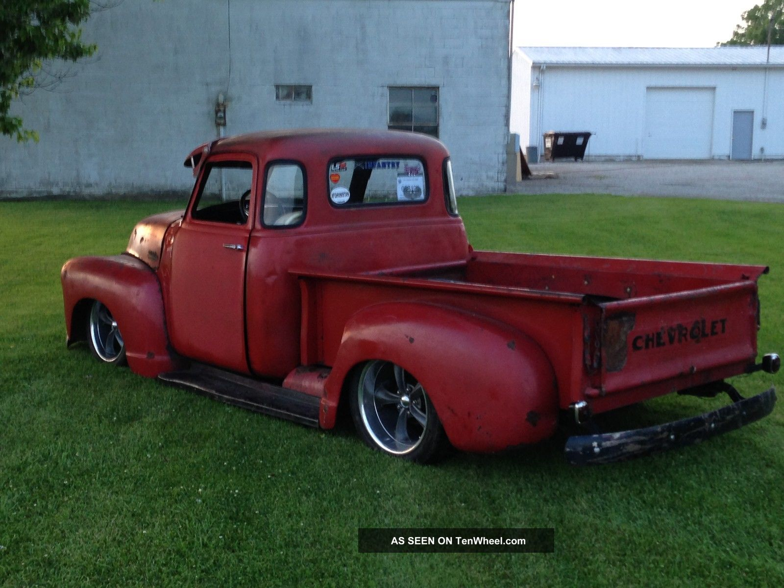 1953 chevrolet 3100 5 window truck pickup rat rod for 1953 5 window