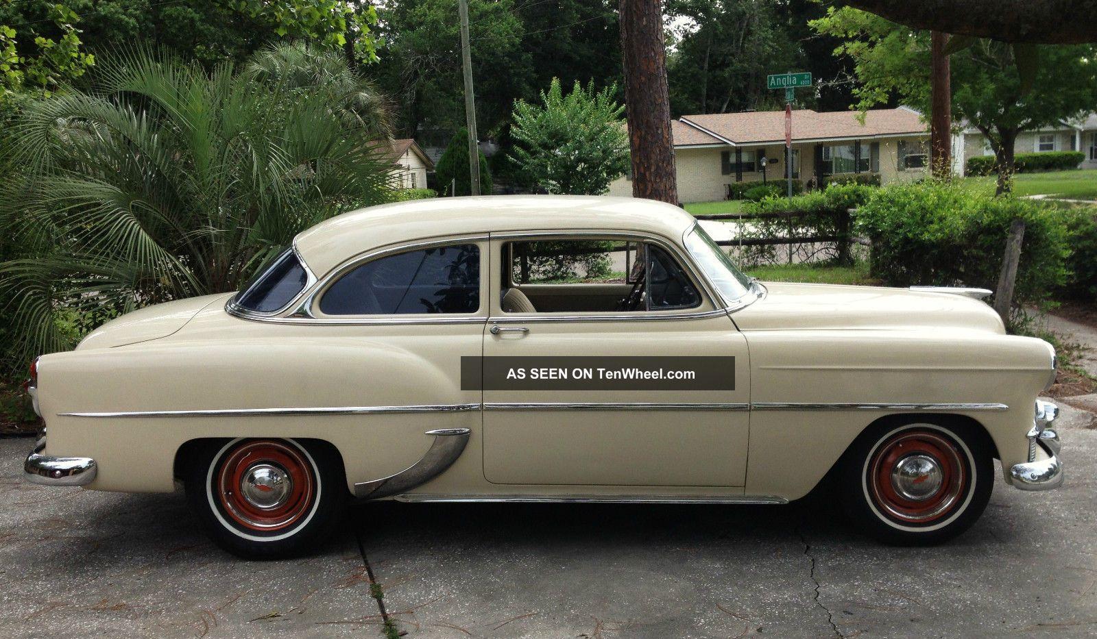 Chevy Chevrolet Resto Mod Custom Touring W A C Street Hot Rod Lgw