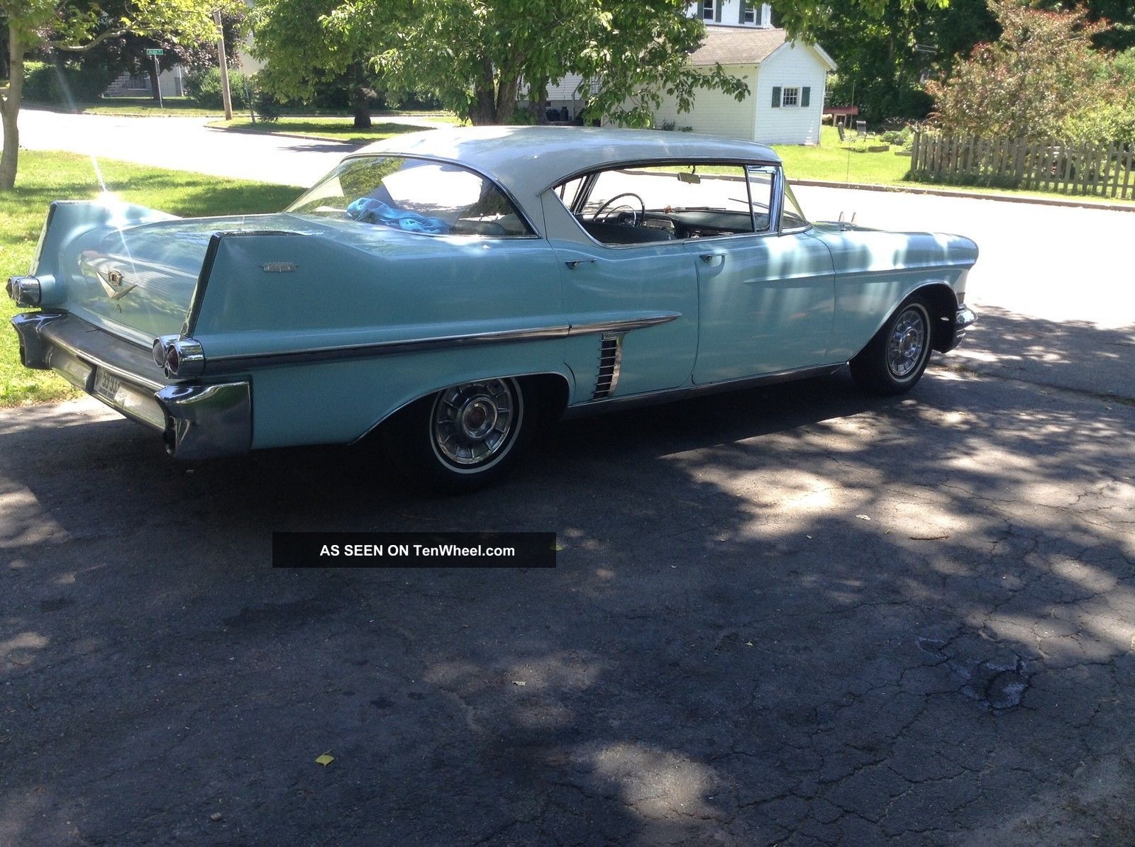 1957 cadillac four door hardtop for 1957 cadillac 2 door hardtop
