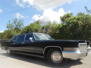 1970 Cadillac Fleetwood 75 Limousine 4 - Door 7.  7l photo