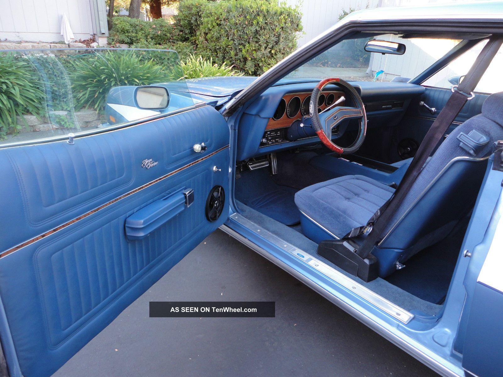 1975 ford gran torino sport car unique starsky hutch paint job. Black Bedroom Furniture Sets. Home Design Ideas