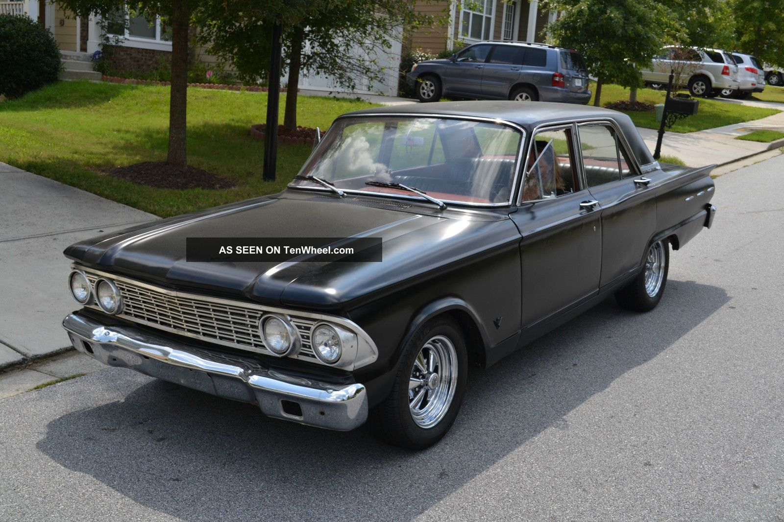 1962 Ford Fairlane 500 Engine Cadillac