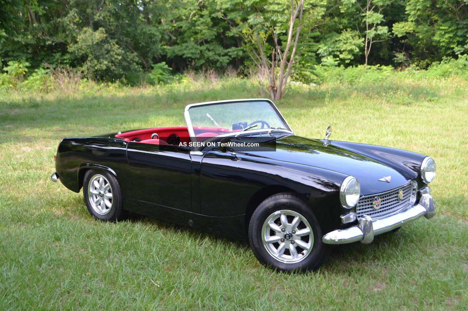 1963 Austin Healey Sprite Mk Ii Convertible Roadster