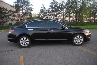 2009 Honda Accord Ex - L V6 Sedan - Black On Black photo