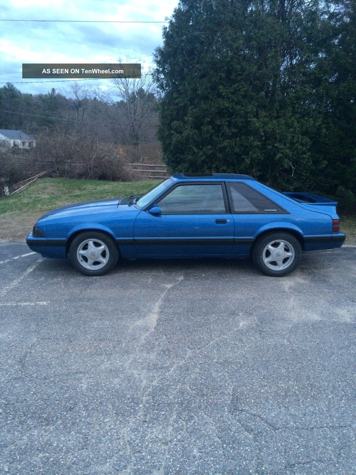 1988 Ford Mustang Lx Hatchback 2 Door 5 0l