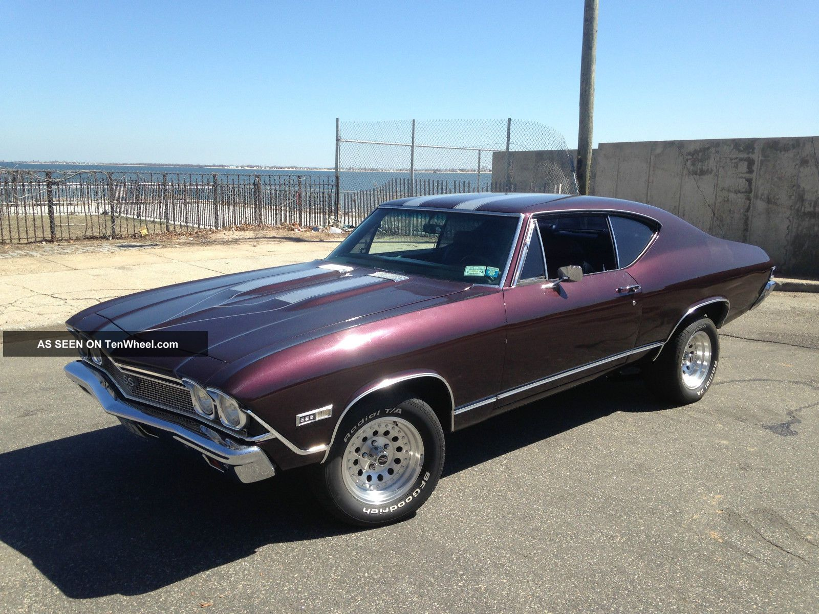 1968 68 Chevy Chevelle True Ss 454 Big Block Hard Top
