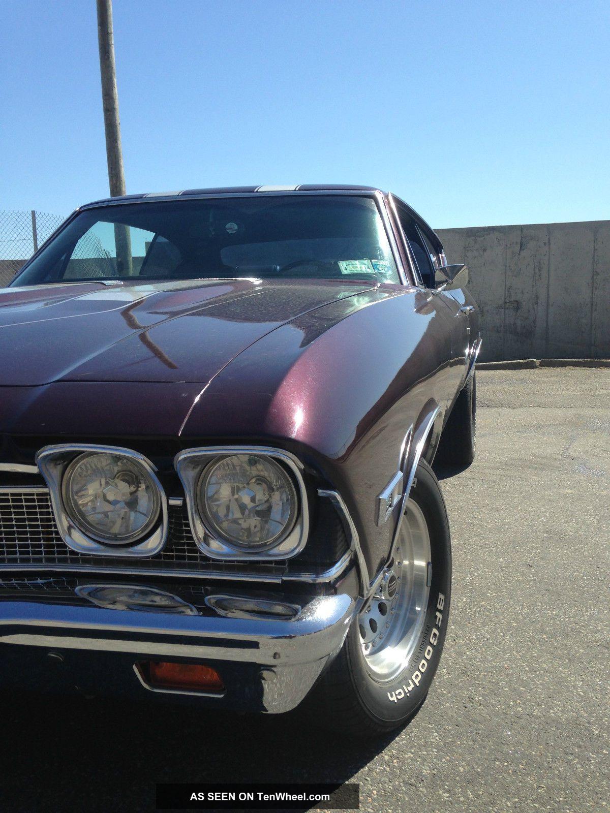 1968 68 Chevy Chevelle True Ss 454 Big Block Hard Top