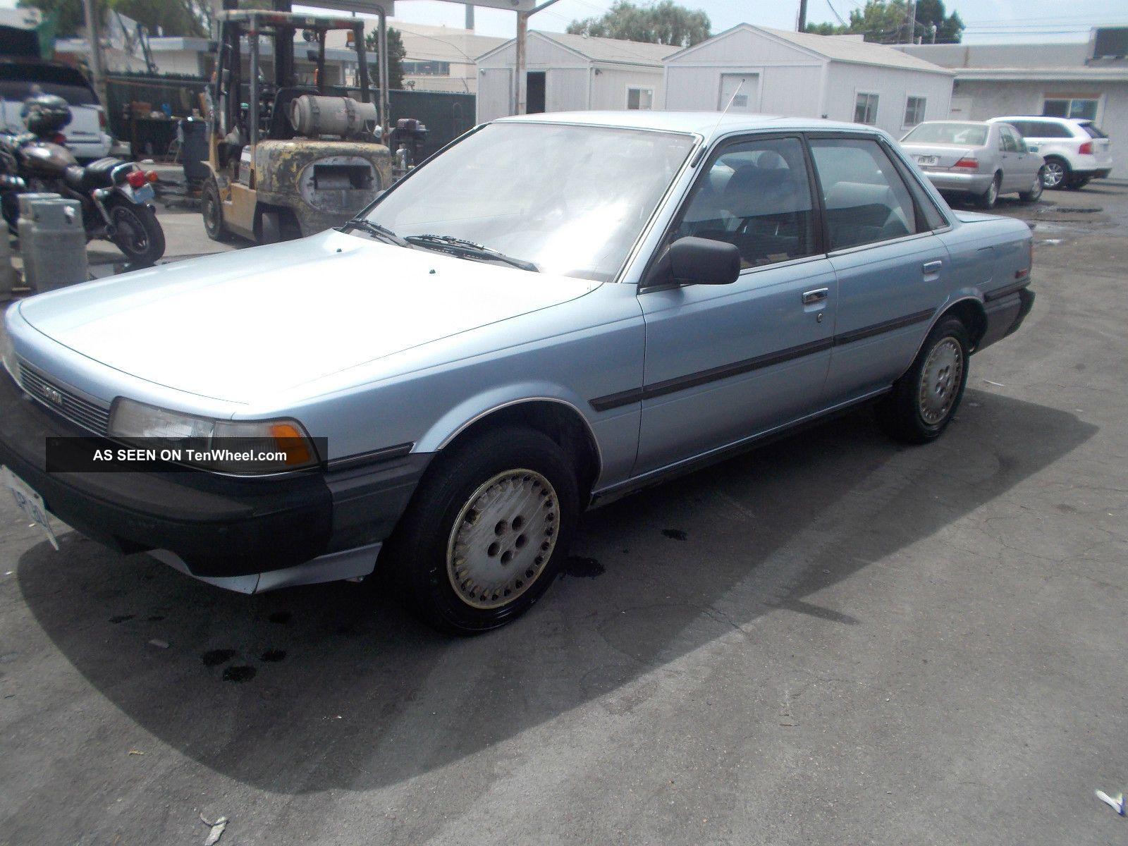 1987 Toyota Camry Camry photo