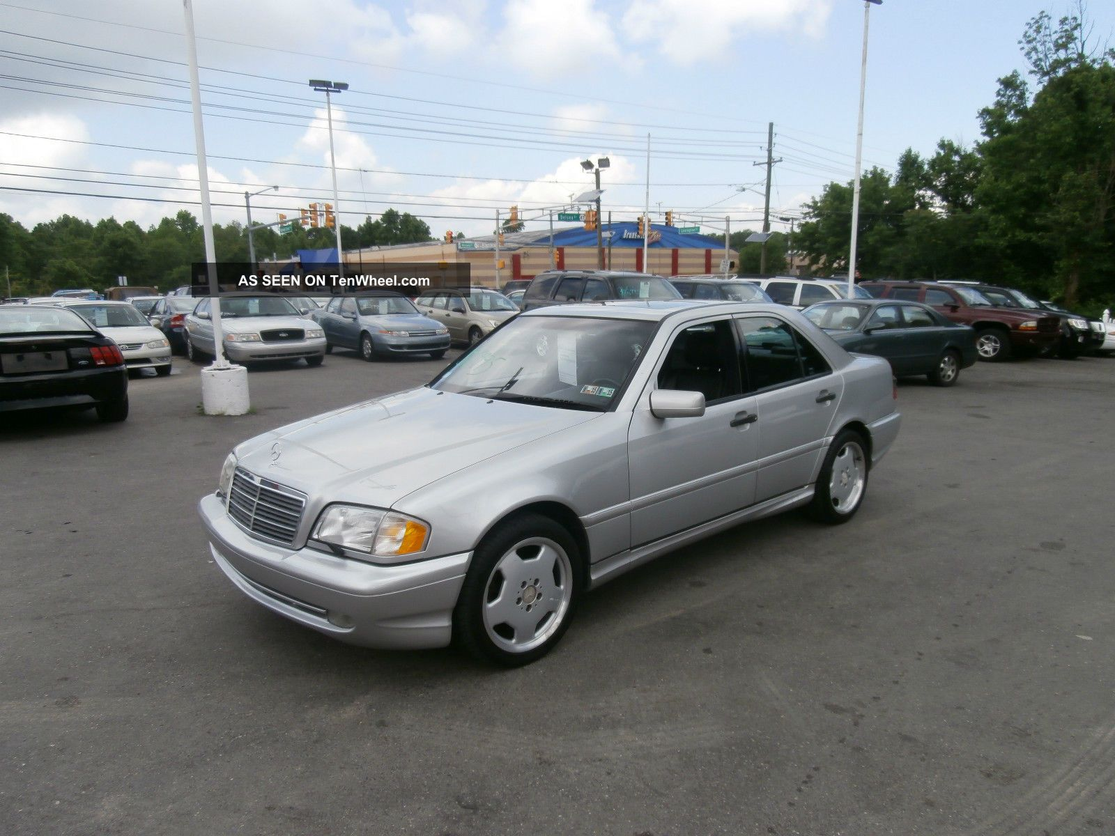 1999 mercedes benz c43 amg rare find v8 for Mercedes benz v8 amg
