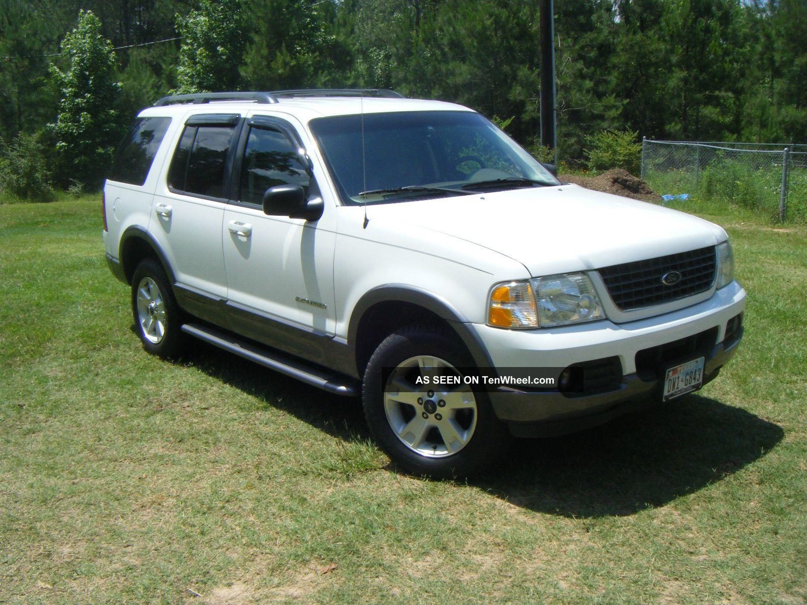 2002 Ford Explorer Xlt V6