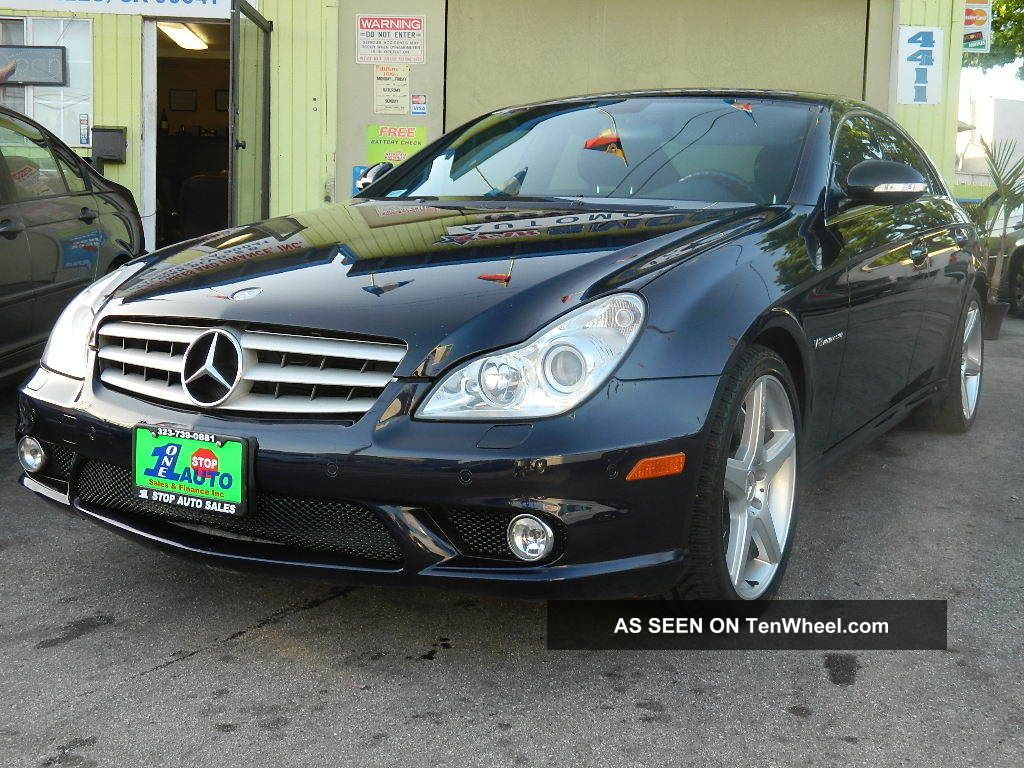 2006 Mercedes - Benz Cls55 Amg Loaded CLS-Class photo