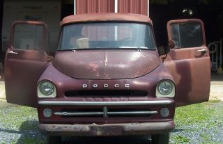 Antique Classic 1957 57 Dodge 200 Pickup Truck W / Title,  Runs photo
