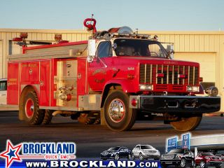 1985 Gmc Top - Kick 7000 Fire Truck photo