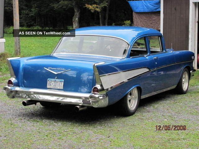 1957 Chevrolet Bel Air Base Hardtop 2 - Door 355 Cu Engine 700r4 Trans Bel Air/150/210 photo