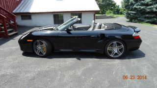 2005 Black / Gray Porsche 911 Turbo S Cab, ,  Radar photo