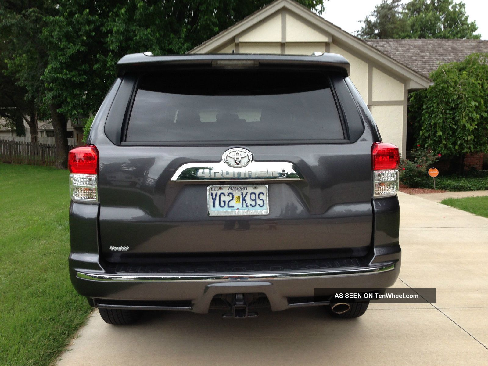 2013 toyota 4x4 4runner limited suv third row seating. Black Bedroom Furniture Sets. Home Design Ideas