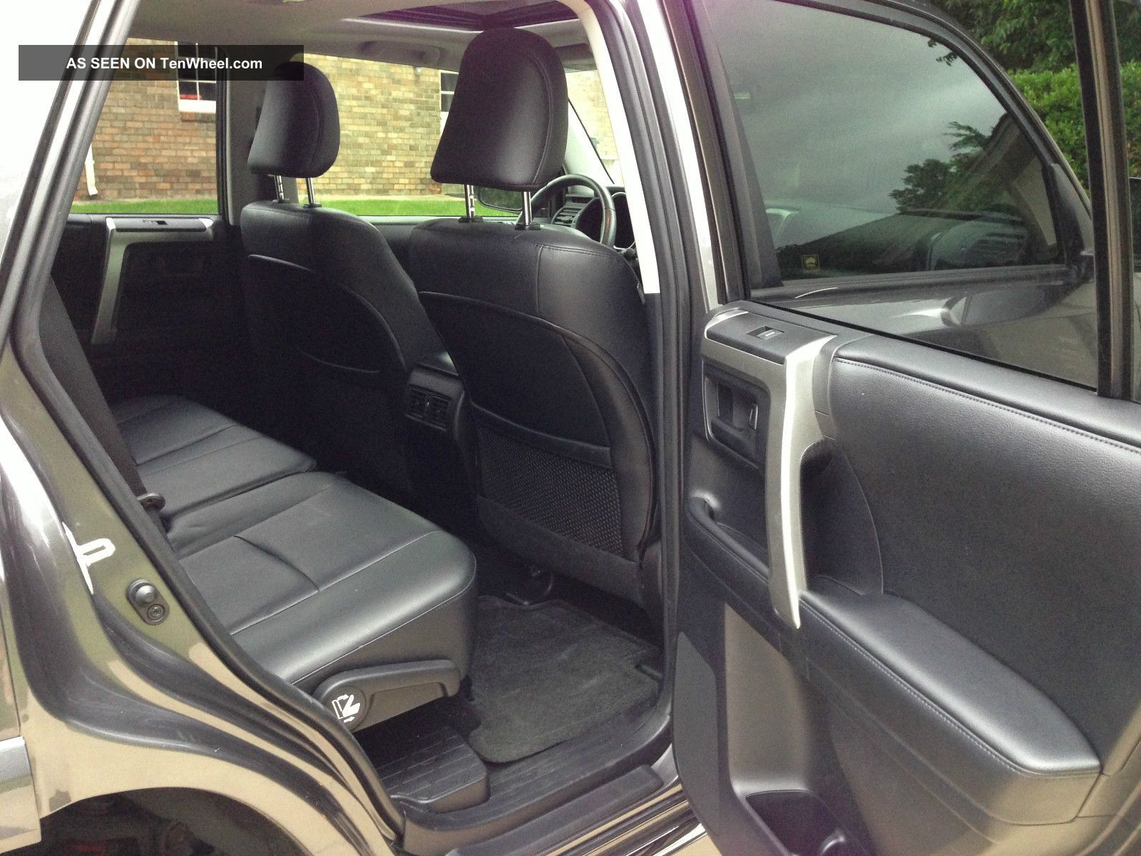 2013 toyota 4x4 4runner limited suv third row seating charcoal black. Black Bedroom Furniture Sets. Home Design Ideas