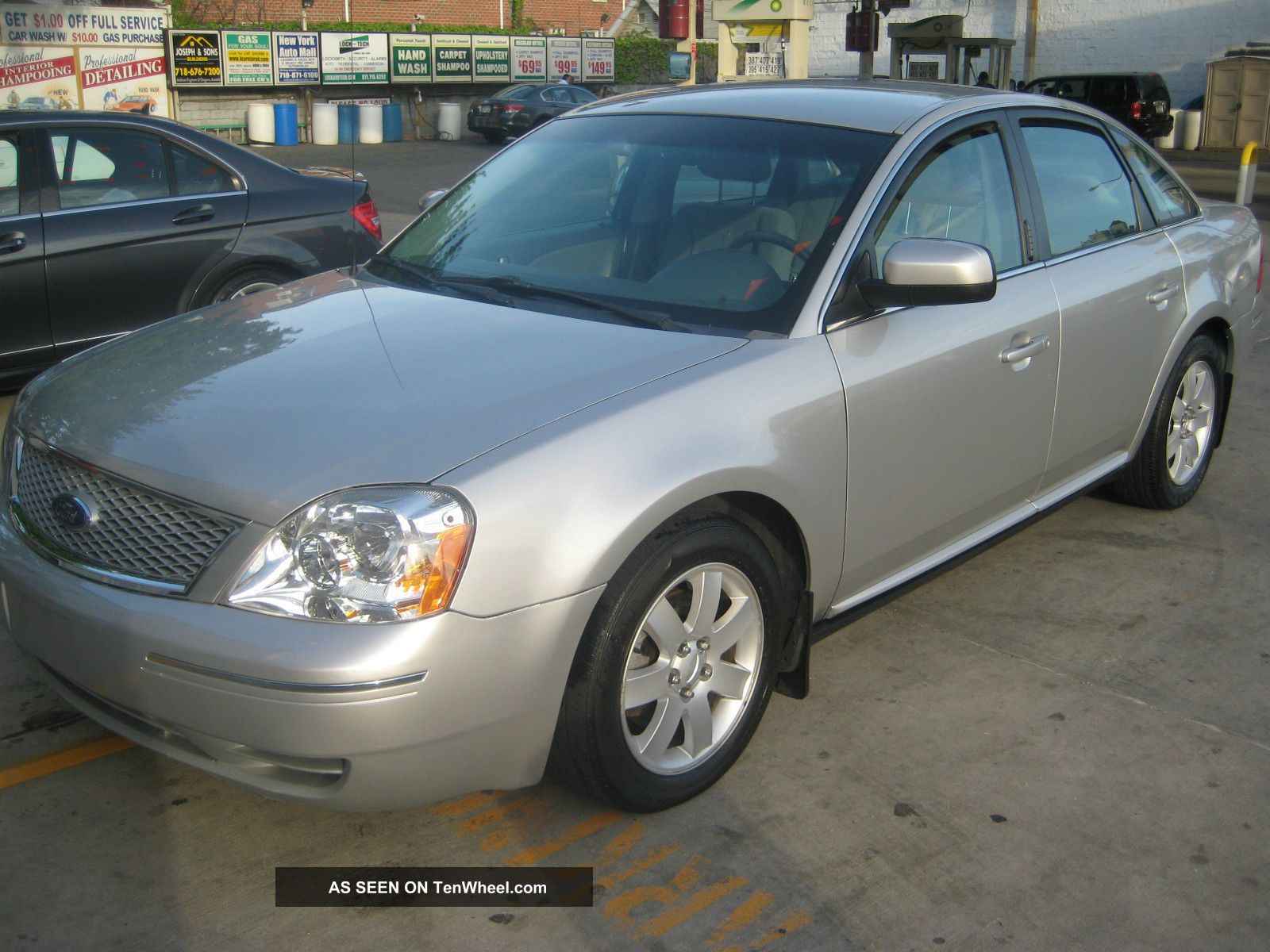 2007 ford five hundred sel sedan 4 door 3 0l. Black Bedroom Furniture Sets. Home Design Ideas
