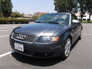2005 Audi S4 Cabriolet Quattro At6 photo