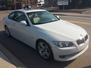 2011 Bmw 328i Coupe White Exterior With Tan Interior photo
