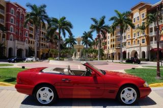 1998 Mercedes - Benz Sl500 Sport Panoramic Roof Fl photo