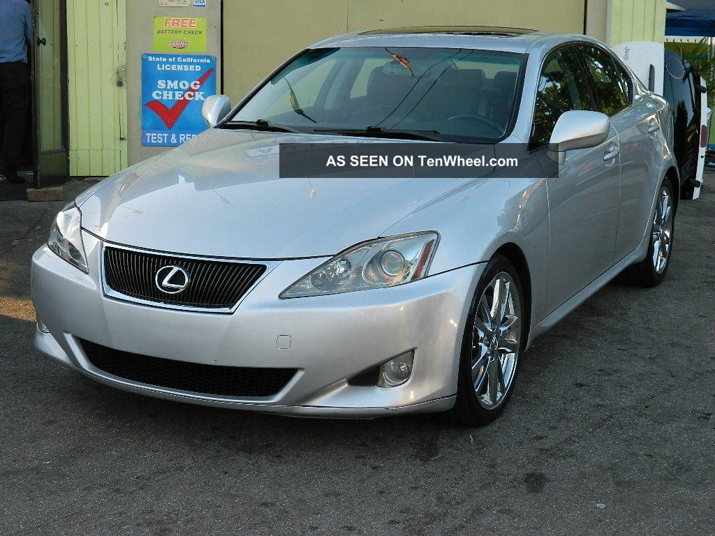 2007 lexus is350 with fully loaded. Black Bedroom Furniture Sets. Home Design Ideas