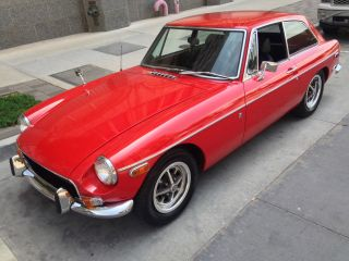 1971 Mgb Gt 2 Owner Exceptional Car.  Rare Fastback Coupe photo