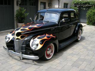 Cars trucks ford web museum for 1940 ford 4 door sedan