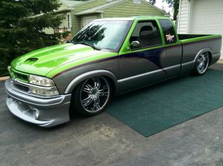One Of A Kind Custom 2001 Chevy S10 photo